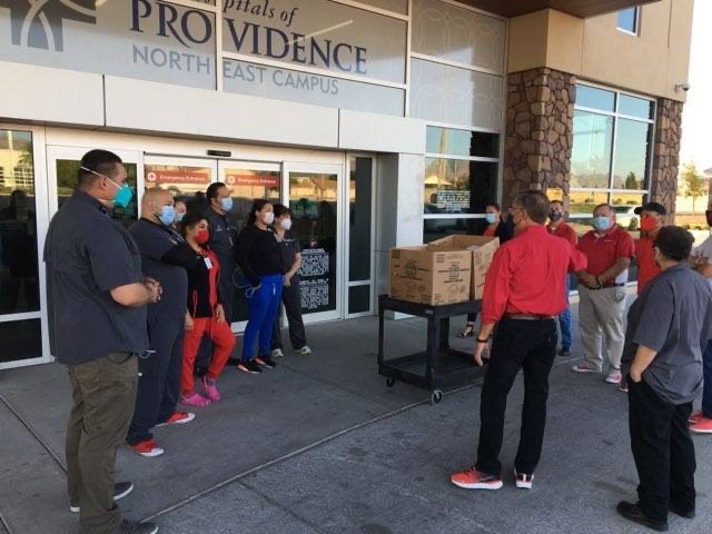 Feed the Frontline El Paso's support of healthcare, restaurants grows