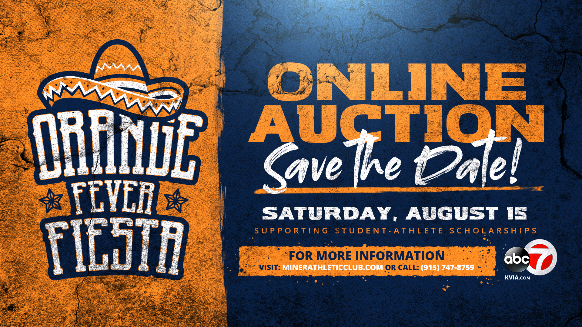Orange Fever Fiesta set for Saturday; Bidding live now; Larry K. Durham to match up to $150K raised