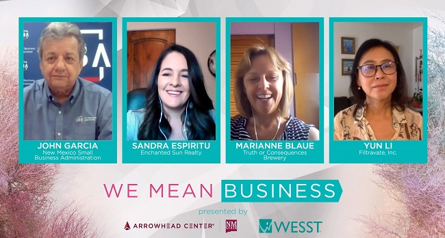 Women entrepreneurs learn, collaborate during NMSU Arrowhead Center's WE Mean Business Conference