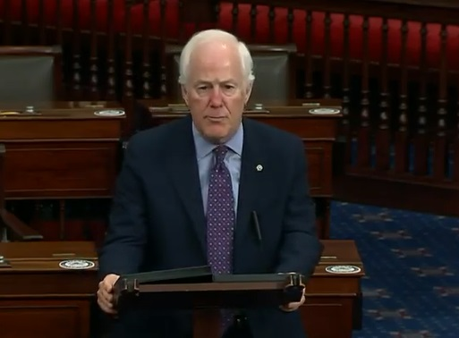 Cornyn: Texans' feedback invaluable as Senate debates next Relief Bill