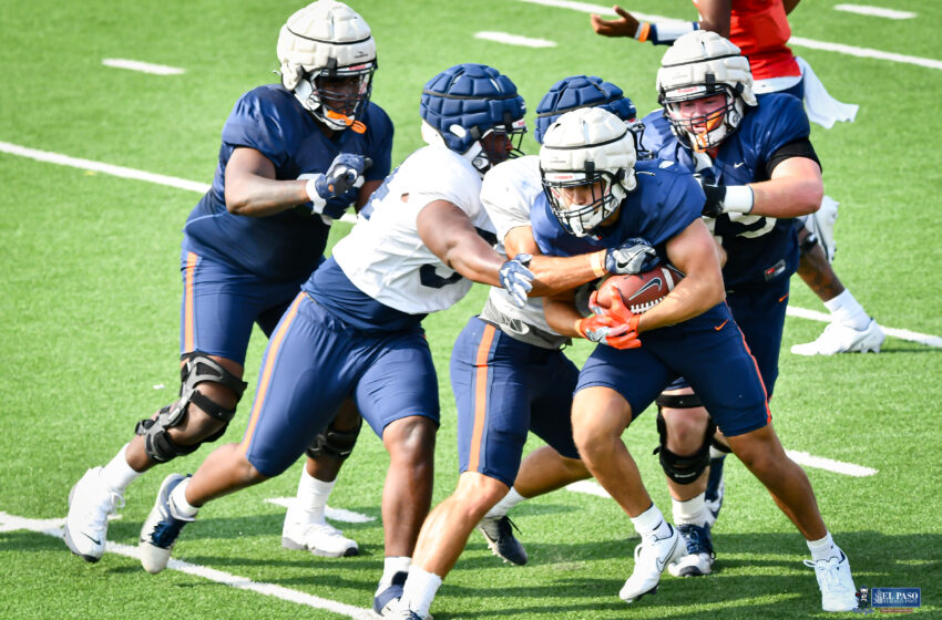 Gallery: UTEP Football hits the practice field once again