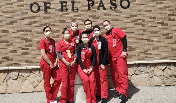TTUHSC El Paso celebrates National Nurses Week, All 86 students in Hunt School of Nursing complete clinical hours